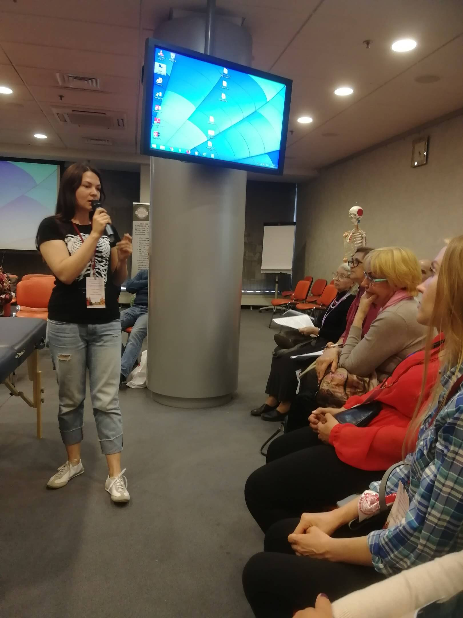 Творческая встреча специалистов по оздоровлению в Измайлово