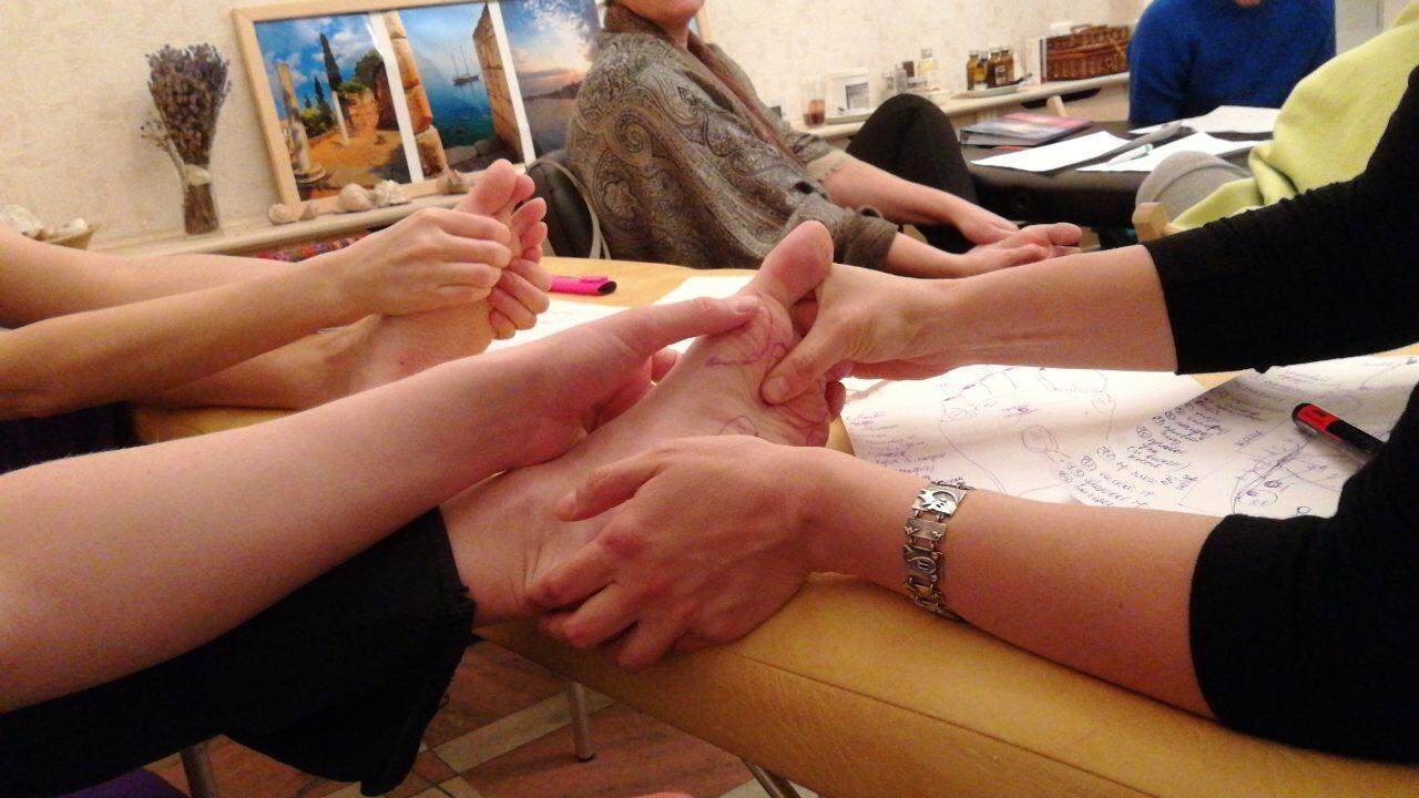 Перцептивная рефлексология: массаж стоп и ладоней, висцеральная терапия, устранение глобальных ограничений 22.01.2018-25.01.2018