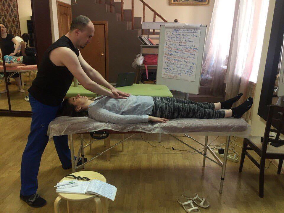Перцептивные приемы для массажистов-3. Психосоматика внутренних органов