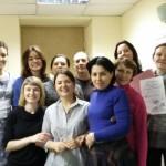 Завершение семинара «Остеопатические приемы для массажистов,  или Как научиться чувствовать»