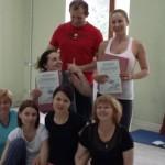 Завершение семинара «Тайский массаж» в городе на море